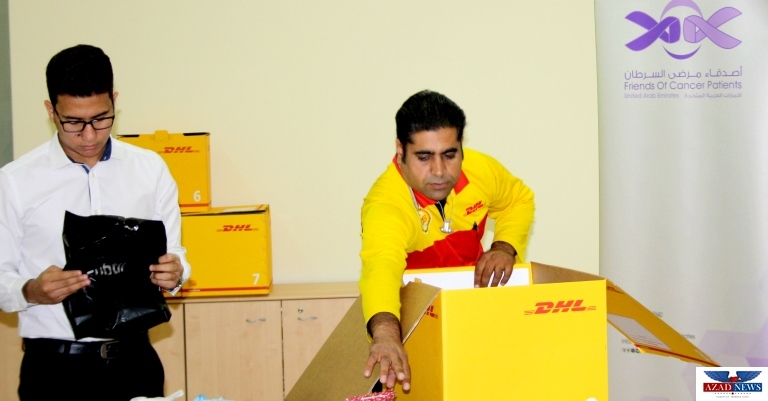 DHL partners with 'Friends of Cancer Patients' to support