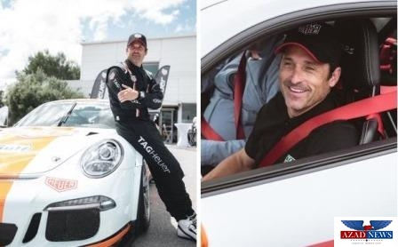 Patrick Dempsey Visited The Monaco Top Cars Collection In The