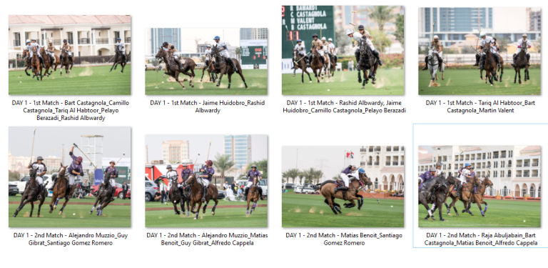 Desert Palm and UAE Polo Teams Victorious on the First Day of the Julius Baer Gold Cup 2019