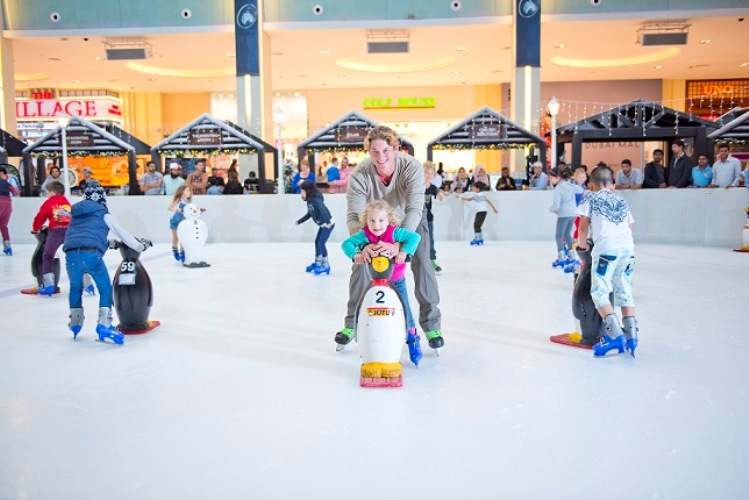 Skate and save on weekdays for only AED 49 with Dubai Ice Rink's weekday skate offers