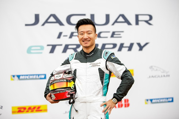 JAGUAR I-PACE eTROPHY SET TO ELECTRIFY CHINA WITH DAVID CHENG,   CO-FOUNDER OF JACKIE CHAN DC RACING TEAM,  AS VIP DRIVER