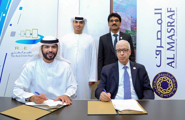 DLD signs MoU with Al Masraf to manage and service OA accounts