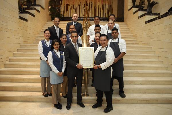 SALT RESTAURANT AT JUMEIRAH MESSILAH BEACH HOTEL & SPA SCOOPS VARIOUS AWARDS AT THE WORLD LUXURY SPA AND RESTAURANT AWARDS CEREMONY