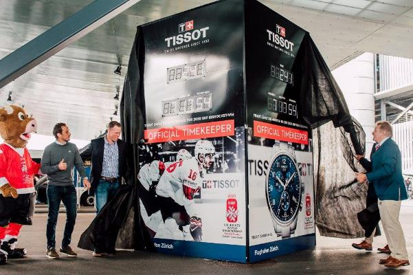As Official Timekeeper of the 2020 IIHF Ice Hockey World Championship, Tissot starts the countdown to the beginning of the competition