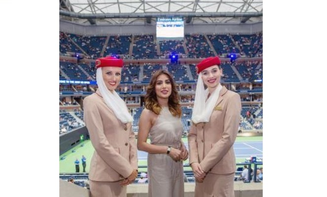 Emirates hosts a volley of stars at the 2019 US Open