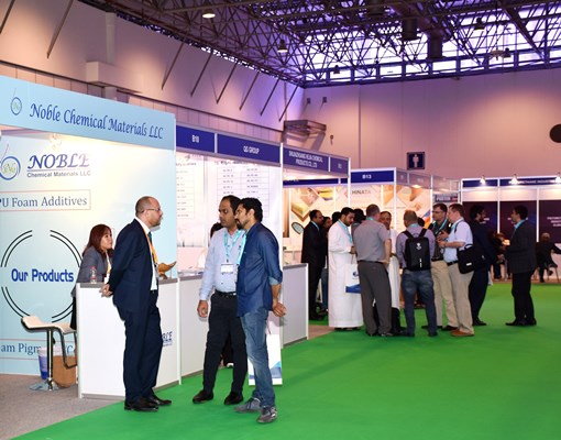 Two-day PU & rubber trade fairs open at Expo Centre Sharjah
