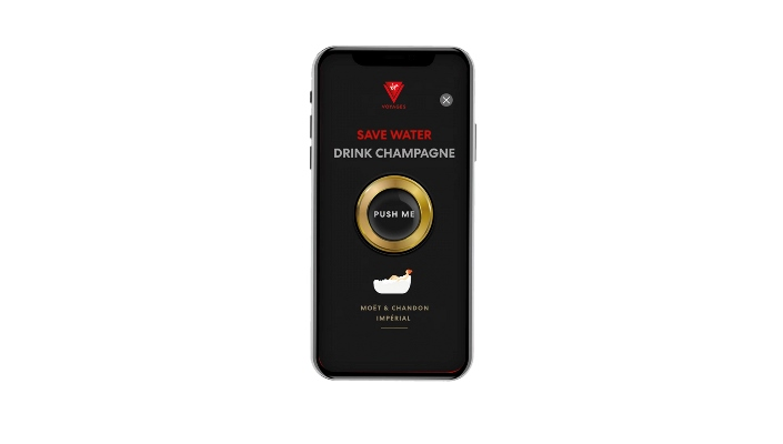 """Virgin Voyages to Feature On-Demand Champagne Delivery Service """"Shake for Champagne™"""""""