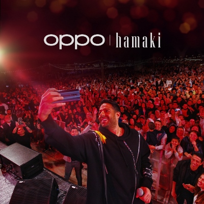 Superstar Mohamed Hamaki performs in Dubai in partnership with OPPO