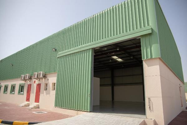 SAIF Zone announces the completion of development works on U2 Area, adding another world-class 70 warehouses