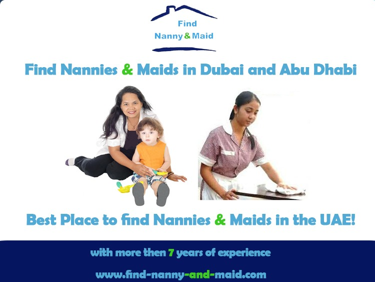 How to Hire a Nanny and Maid in Dubai and Abu Dhabi