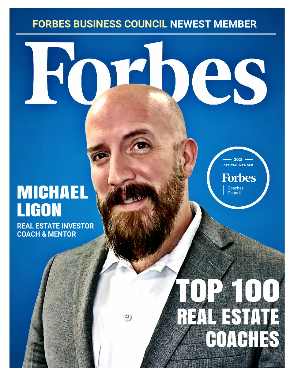 Michael Ligon of The Ligon Brothers accepted into Forbes Business Council