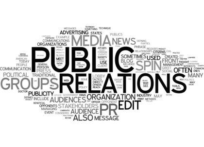 What is the role of a PR agency?